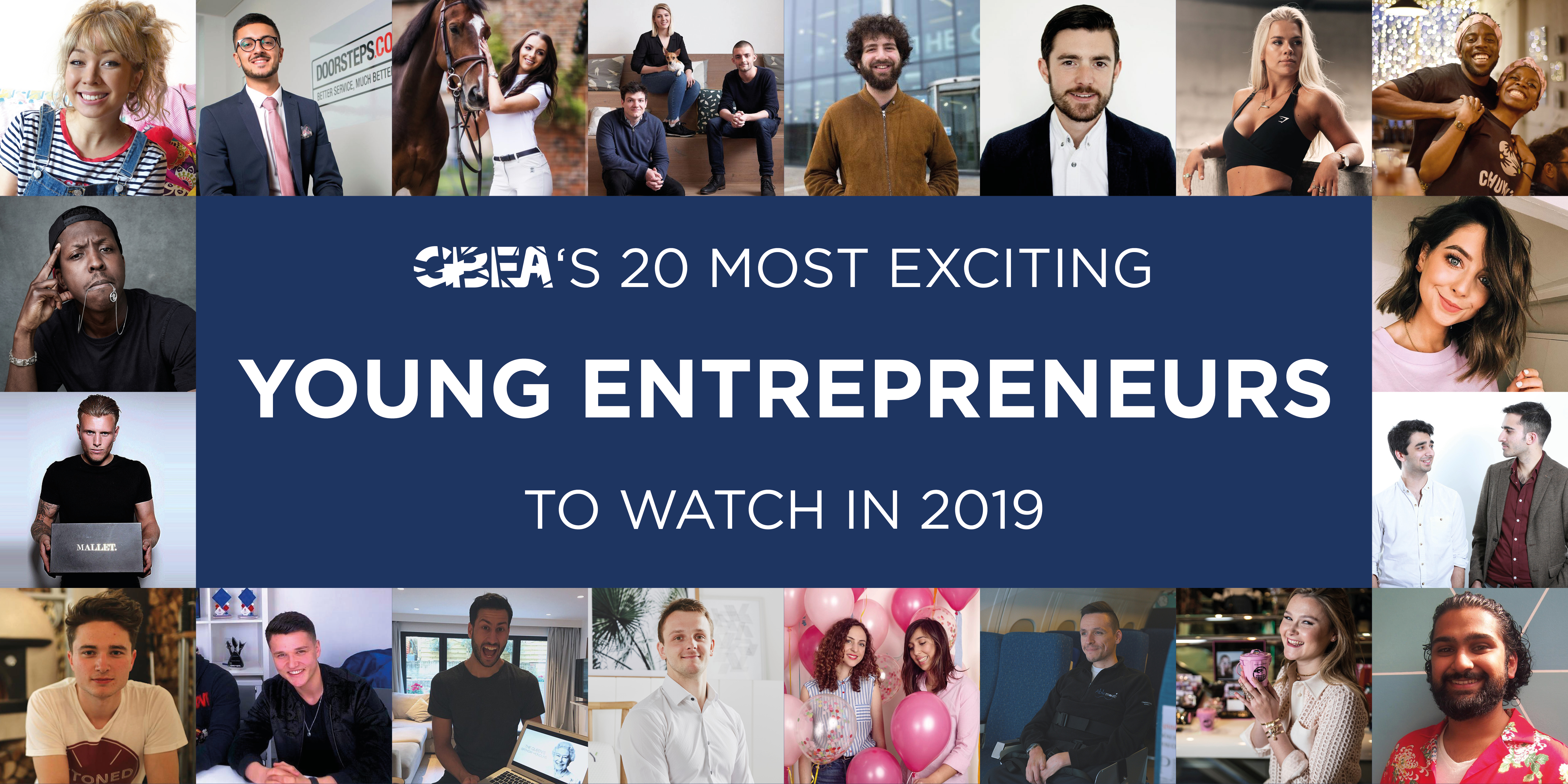 GBEA's 20 most exciting young entrepreneurs to watch in 2019
