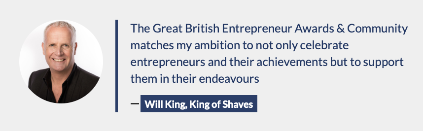 We had amazing support from some of Great Britain's most successful entrepreneurs from the start