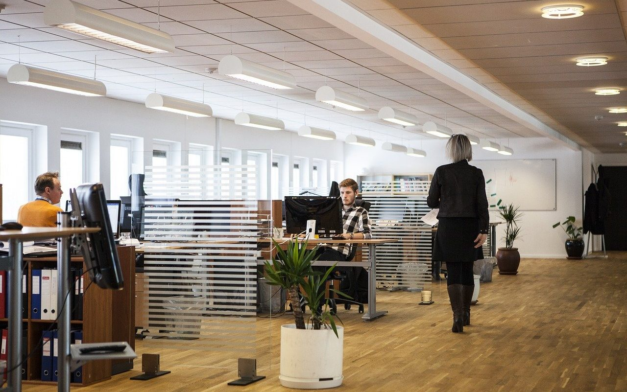 office, business, company